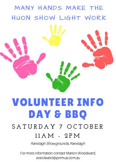 Volunteer poster Aug 2017